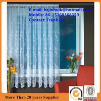polyester finished living room window lace curtain