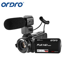 "Ordro HDV-Z82 3.0"" TFT Touch Screen Full HD Professional Digital Video Camcorder 120X Digital Zoom"
