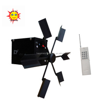 200M remote control Double wheels fountains fireworks firing system