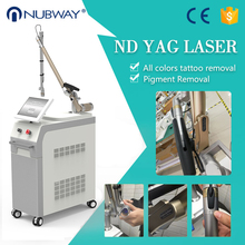 Beauty equipment 1064 nm 532nm nd yag laser tattoo pigmentation removal machine