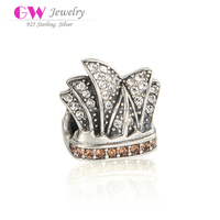 Modern Sydney Opera House Beads Paving Crystal Rhinestones Fashion Jewerly