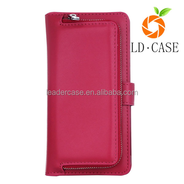 For iphone 6 TPU case ladies beautiful mobile phone wallet case
