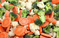 natural fried frozen mixed vegetable