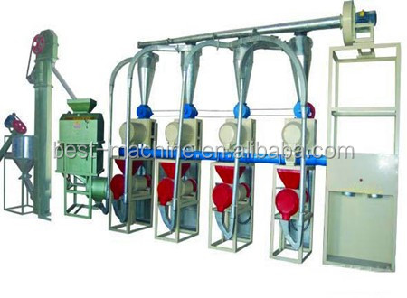 Full automatic Wheat Flour filling Machinery,Wheat/Corn Flour Sealing weighing Packer Automatic flour packing machine