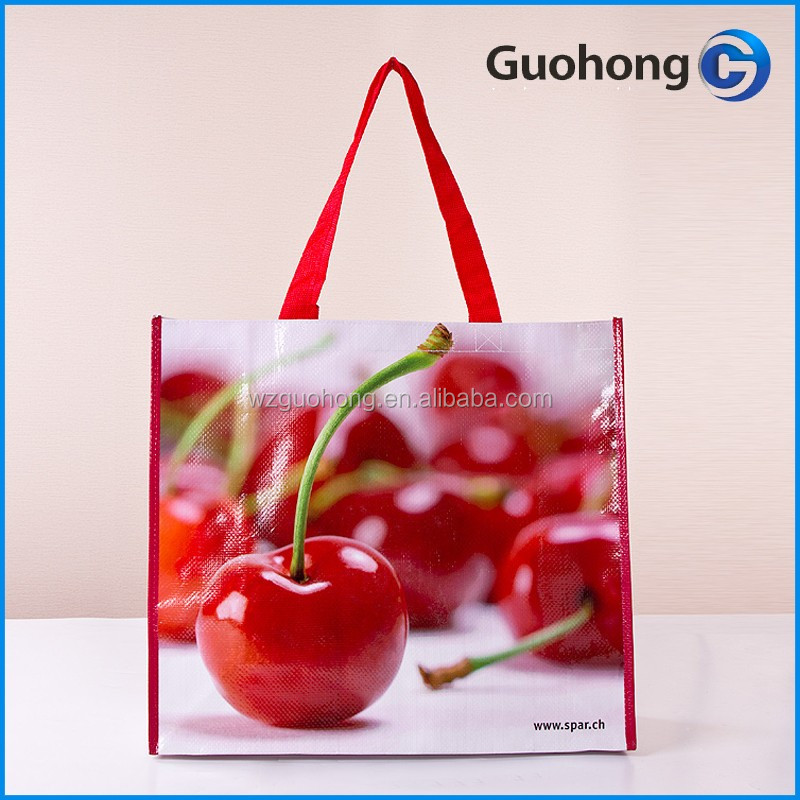 Top Brand in China Leader Manufacturer Factory Price customized laminated pp woven bag for shopping