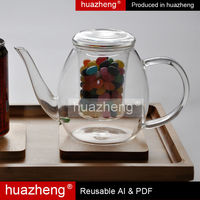 Coffee Shop Tableware The Borosilicate Glass Cups