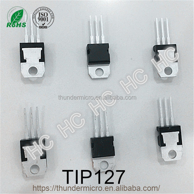 Wuxi TIP127 silicon PNP power transistor