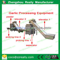 High output commercial garlic processing production line with different capacity