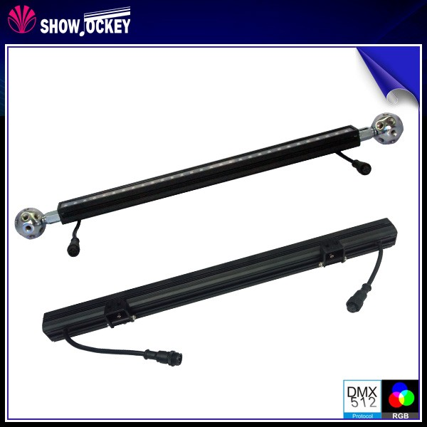 Showjockey Facade <strong>RGB</strong> DC24V IP65 LED Strip Bar with AL Body for Building Decoration