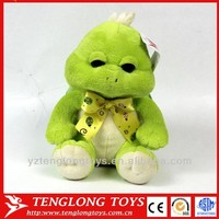 manufacturer top quality cute plush green turtle for kids