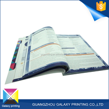 Promotional pamphlet, Brochure Printing Softcover Book Affordable price with high quality