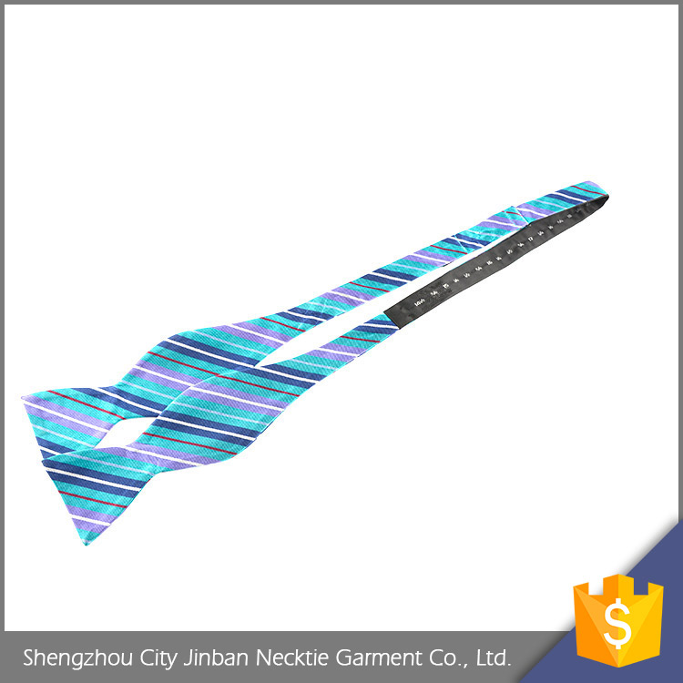 Good quality OEM accept jacquard Silk stripe children's necktie