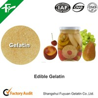 100% Halal edible / food grade gelatin for aspic and ham sausage