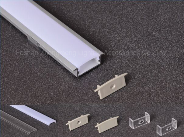 100mm commercial strip light led aluminum profile, strip light profile