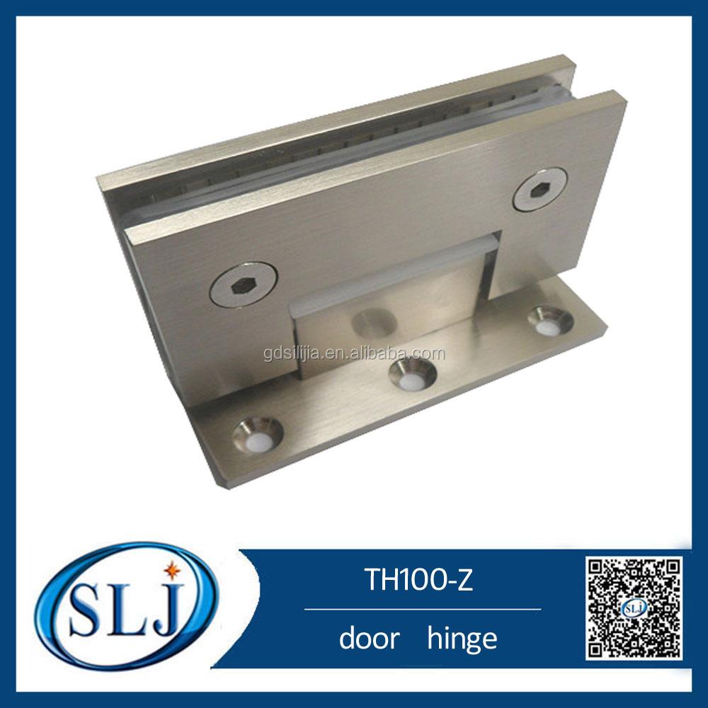 Spring Loaded Pivot : Adjust bottom door spring loaded pivot hinges for cabinets
