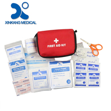 Direct factory price basic first aid kit bags supplies listts
