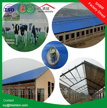 """Iron Crown "" high strength lightweight anti-corosion insulation MGO roof for poultry house SSHH01"