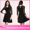 Classic Wholesale French Connection Vienna Lace black skater dress
