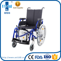 G5 multifunctional aluminum light weight wheelchair with swing away armrest and used manual wheelchair
