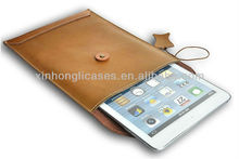 new arrival Top quality See larger image Leather postcard pouchi envelop case bag for ipad mini