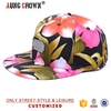 new floral flowers snapback,floral snap back hat,floral flowers snapback