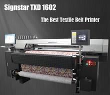 digital textile printer for direct printing on cotton fabric TXD1602 belt machine