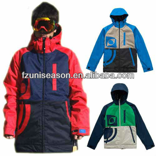 German summit ski jacket for young men wear