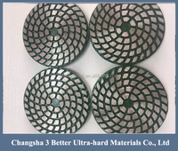 Floor sintering diamond metal bonded polishing pads for concrete granite marble