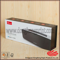 Matte rectangle cardboard voice box packing box