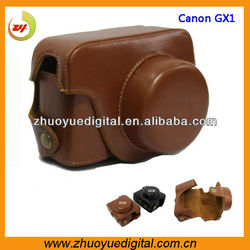 Digital pu leather camera cover/pouch/sleeve bag for canon eos camera bag for Canon G1X Powershot