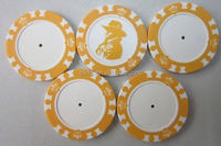 14 Gram Colorful Clay Poker Chips billiard table covers