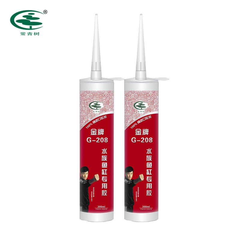 Evergain Gold Medal G-208 Aquarium and Fishbowl Special Use Silicone Sealant