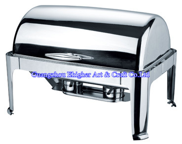 Roll Top Buffet Chafing Dish/ Food Warmer Serving Dish