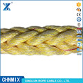 8 strand rope PP and PET fiber mixed mooring towing sling rope cable
