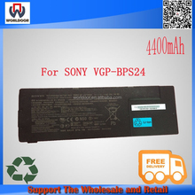 100% new original 10.8V 5000mah For Sony Laptop Battery VGP-BPS24 VGP-BPL24 BPS24
