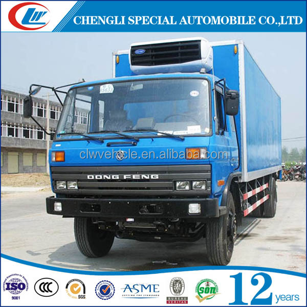Dongfeng 6 Wheels Good Use Refrigerated Van Truck