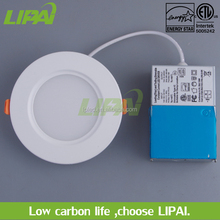 Energy star certificates 4 inch 9W ul listed round led panel lights with junction box