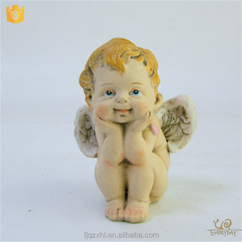 Supplier Cheap Wholesale Souvenir Supplies Return Wedding Gift Fairy Figurines and Angel Statue