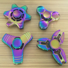2017 Latest More colorful fidget spinner toys hand spinner relieve stress