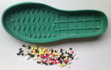 TPR thermoplastic rubber for shoe soles based in SBS material