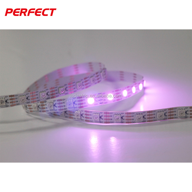 5050 led rgb strip controlleryuanwenjun ws2812b programmable rgbw led strip light 5050 5m remote control5v 60 led pixel strip aloadofball Choice Image