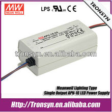 MeanWell Power Supply APV-16-15 (16W 15V) Constant Voltage LED Driver Power Supply 15V 1A Power Transformer