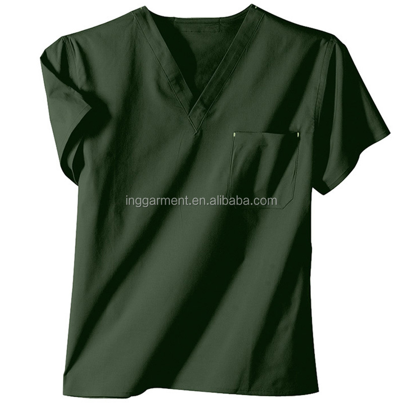 Professional Nurse Uniform Scrub Top