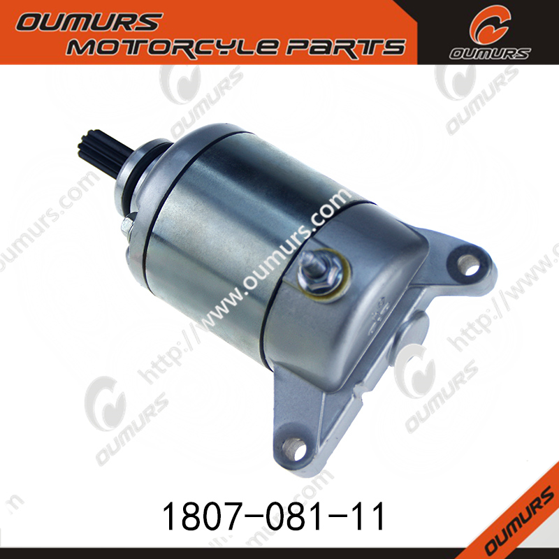 for 150CC Bike CBF150 scooter starter motor
