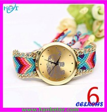2015 New vogue watch colorful quartz watch advance for women/girls