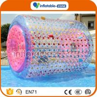 Bottom price inflatable water rollers for kids & adults inflatable water boat rollers