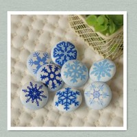 Blue Crystal Buttons Furniture Rhinestone Buttons