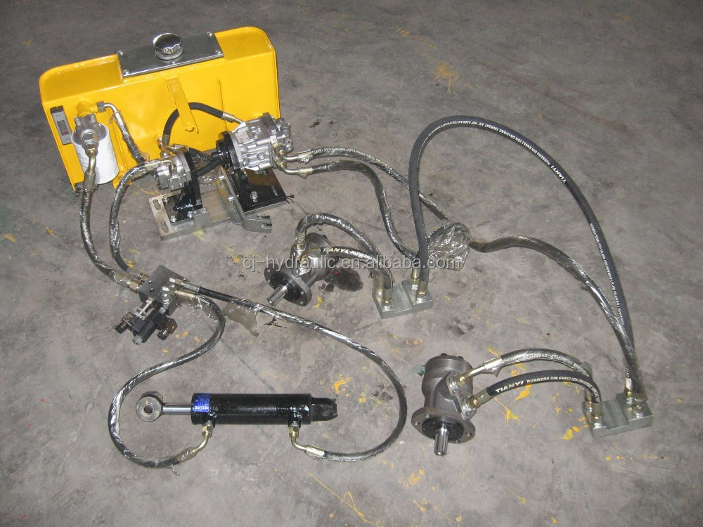 Small Hydraulic System for 0.8 Ton Vibroroller