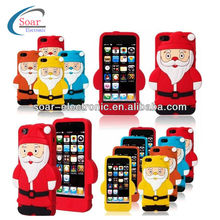 christmas santa claus phone cases for iphone 5 cases