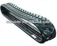 Rubber track for Mini excavator PC30/PC220